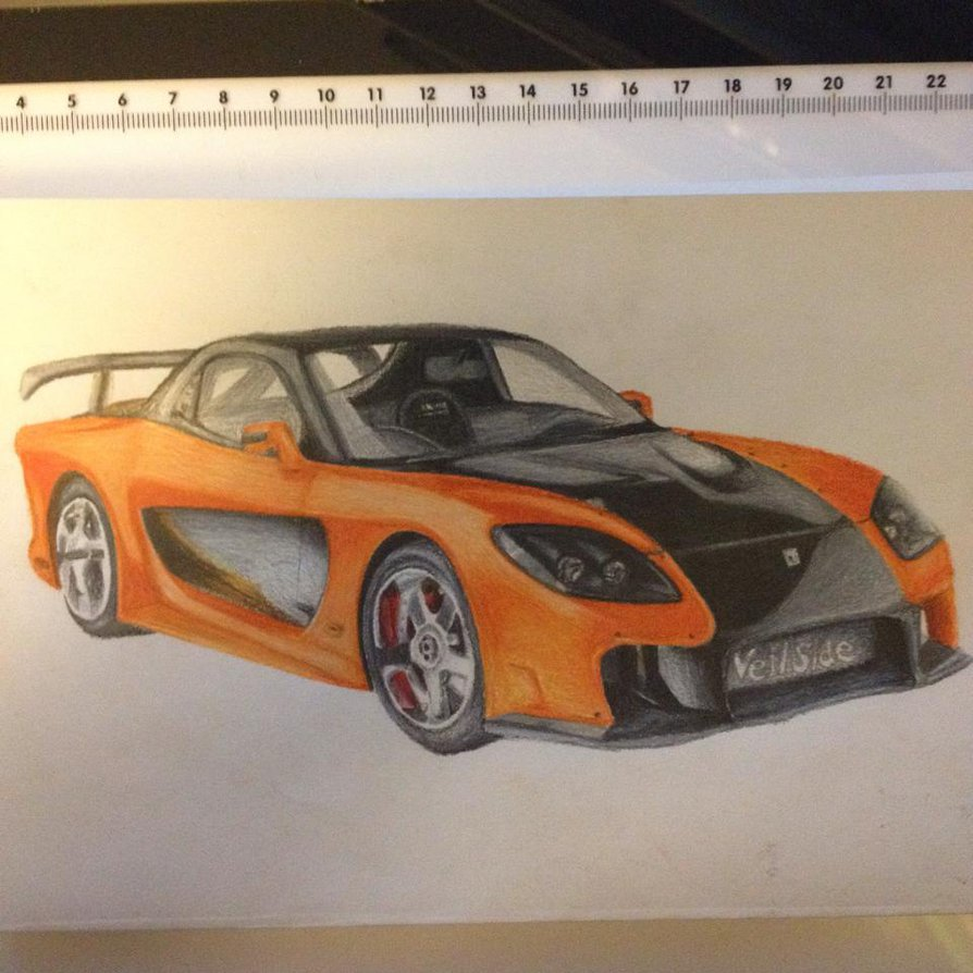 Mazda Rx7 Drawing At Free For Personal Use 1993 Rx 7 Rotary Engine Diagram 894x894 Veilside Fortune Fast And Furious Tokyo By Blazingfoxhd
