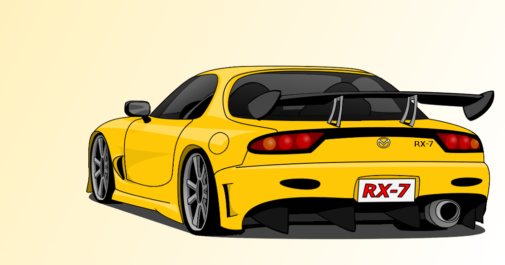 1024x537 Mazda RX7 By BlazeGTR On DeviantArt