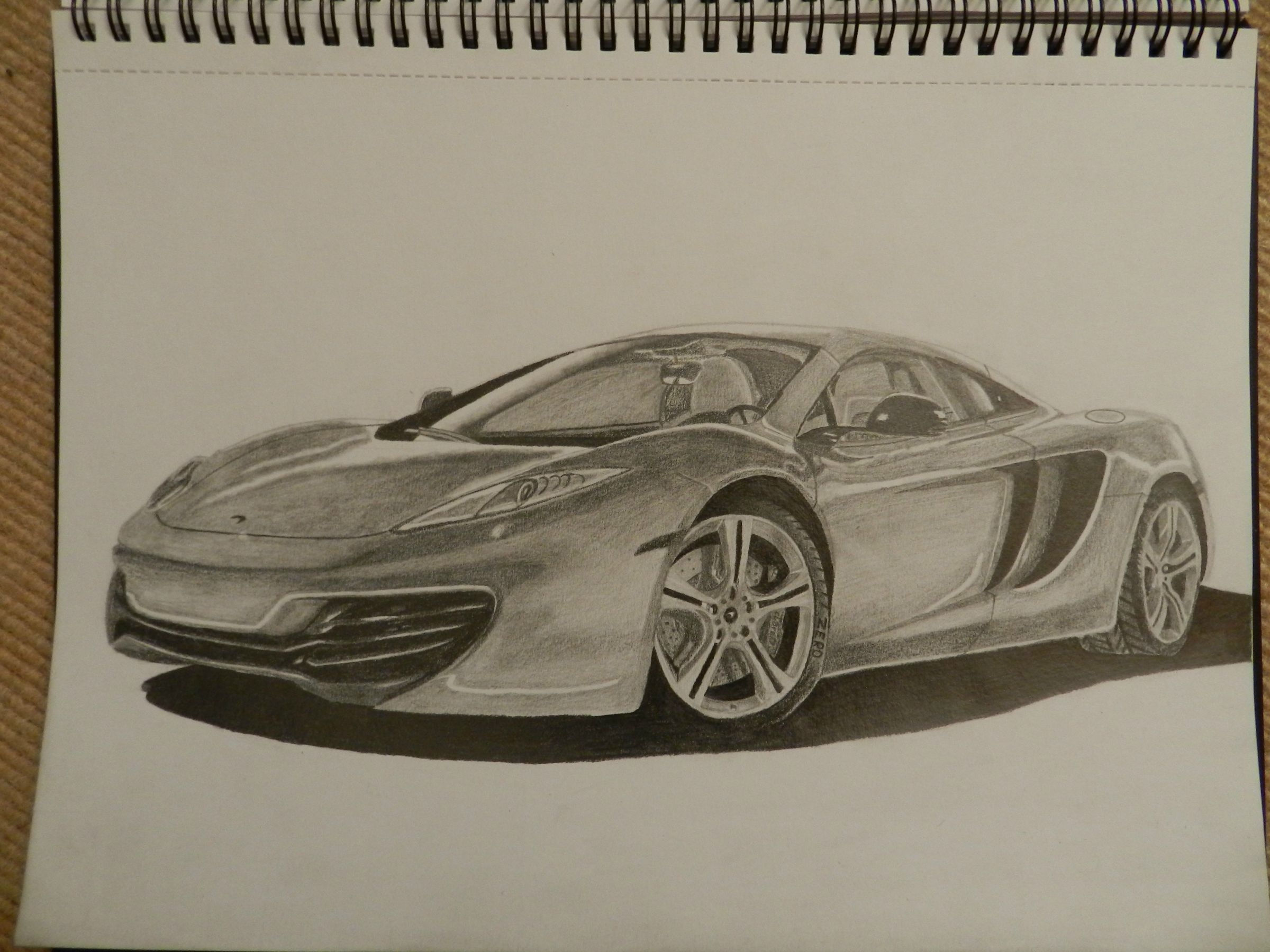 Mclaren Drawing at GetDrawings.com | Free for personal use Mclaren