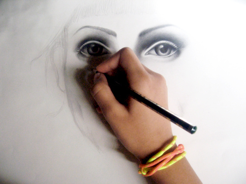 500x375 Your Eyes Draw Me Closer To You Drawn By Al5oobza Noori