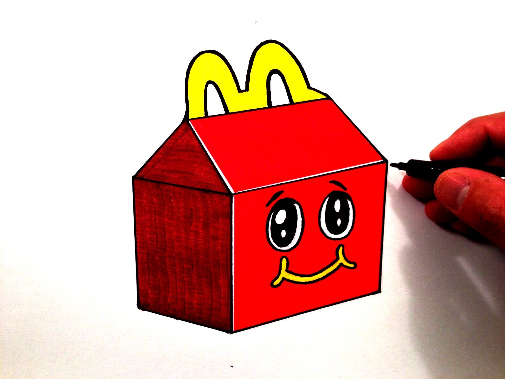 1632x1224 How To Draw A Cute Happy Meal
