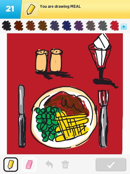 500x667 Meal Drawings