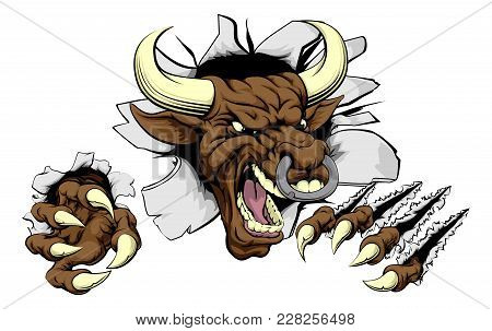 450x303 Angry Bull Images, Illustrations, Vectors