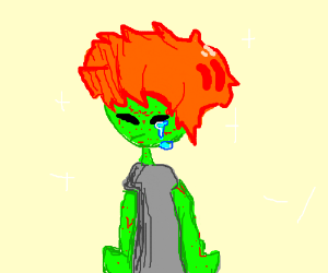 300x250 An Alien With Ginger Hair Has The Measles
