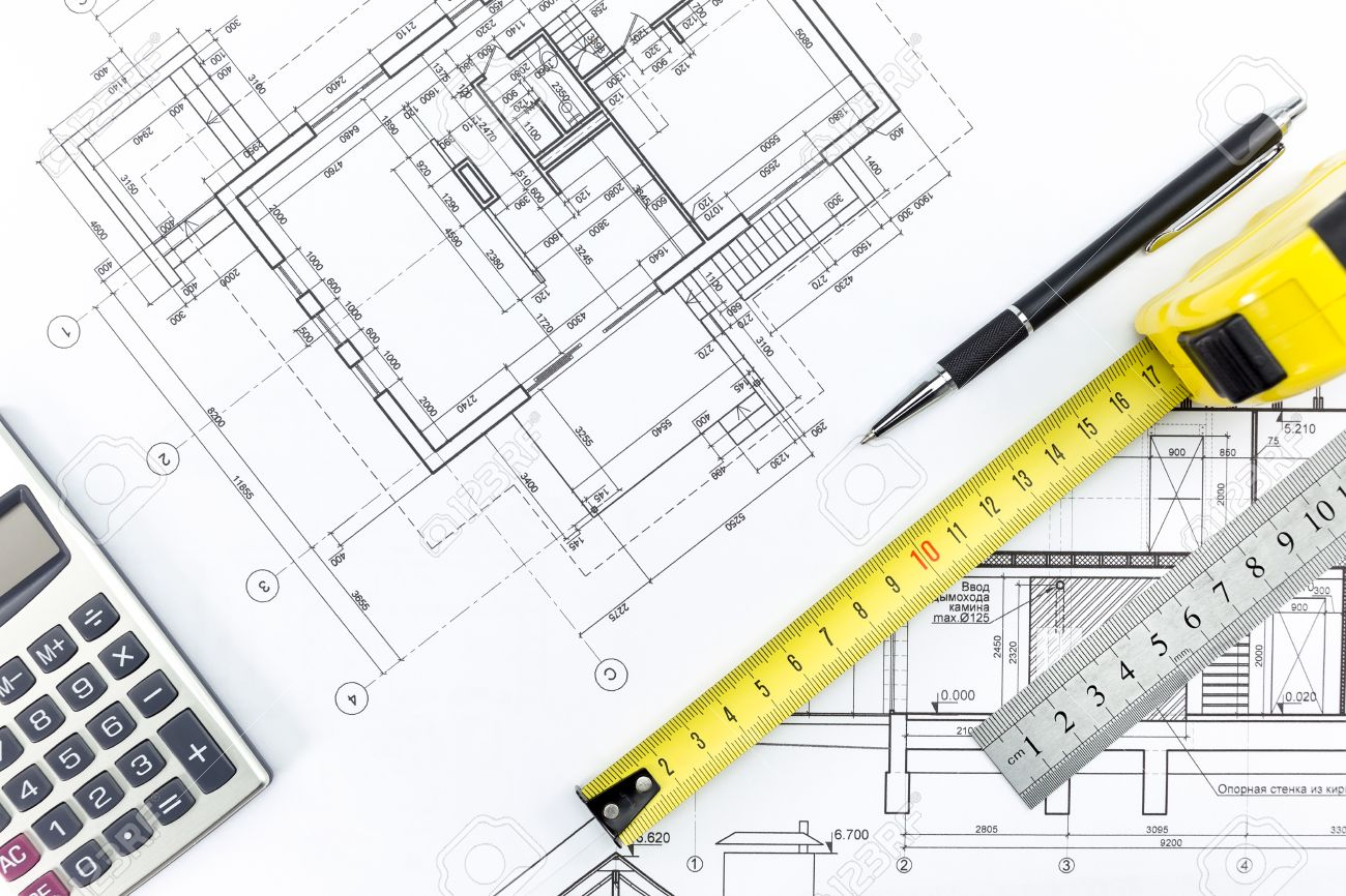 1300x866 Engineering And Architecture Drawings And Work Tools