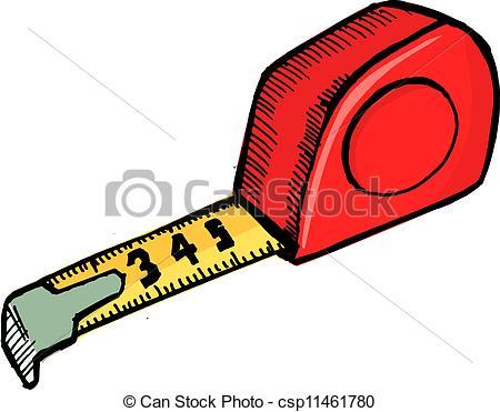 450x371 Tape Measure Vector