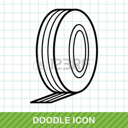 450x450 Measuring Tape Doodle Royalty Free Cliparts, Vectors, And Stock