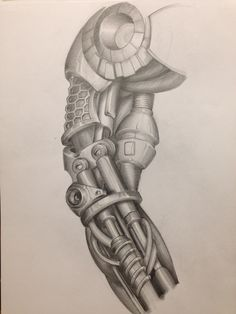 236x314 Tattoo Arm Cyborg Mechanic Biomechanic Drawing Ideas De Tatuajes