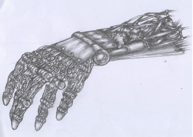 800x569 Robotic Hand By Pessimistic Orange