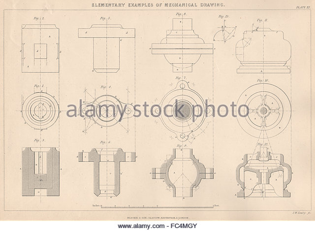 640x468 Mechanical Engineering Drawing Stock Photos Amp Mechanical