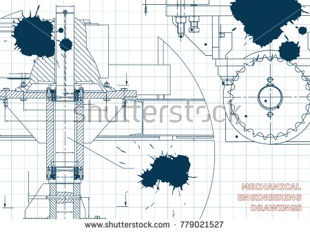 Mechanical engineering drawing at getdrawings free for 450x338 blueprints mechanical engineering drawings cover banner malvernweather Choice Image