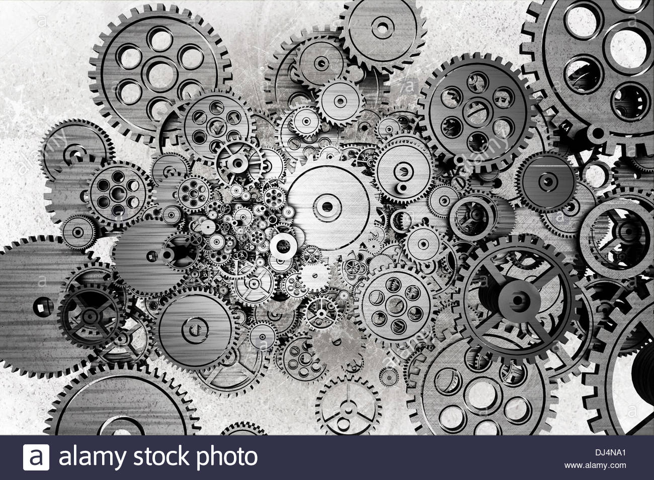 1300x956 Grunge Gears Background. Black And White Dirty Grunge Mechanical