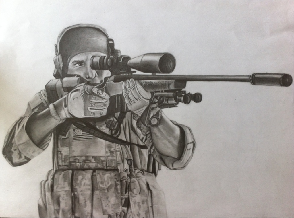 1024x760 X Post From Rpics) Pencil Drawing I Made For Friend