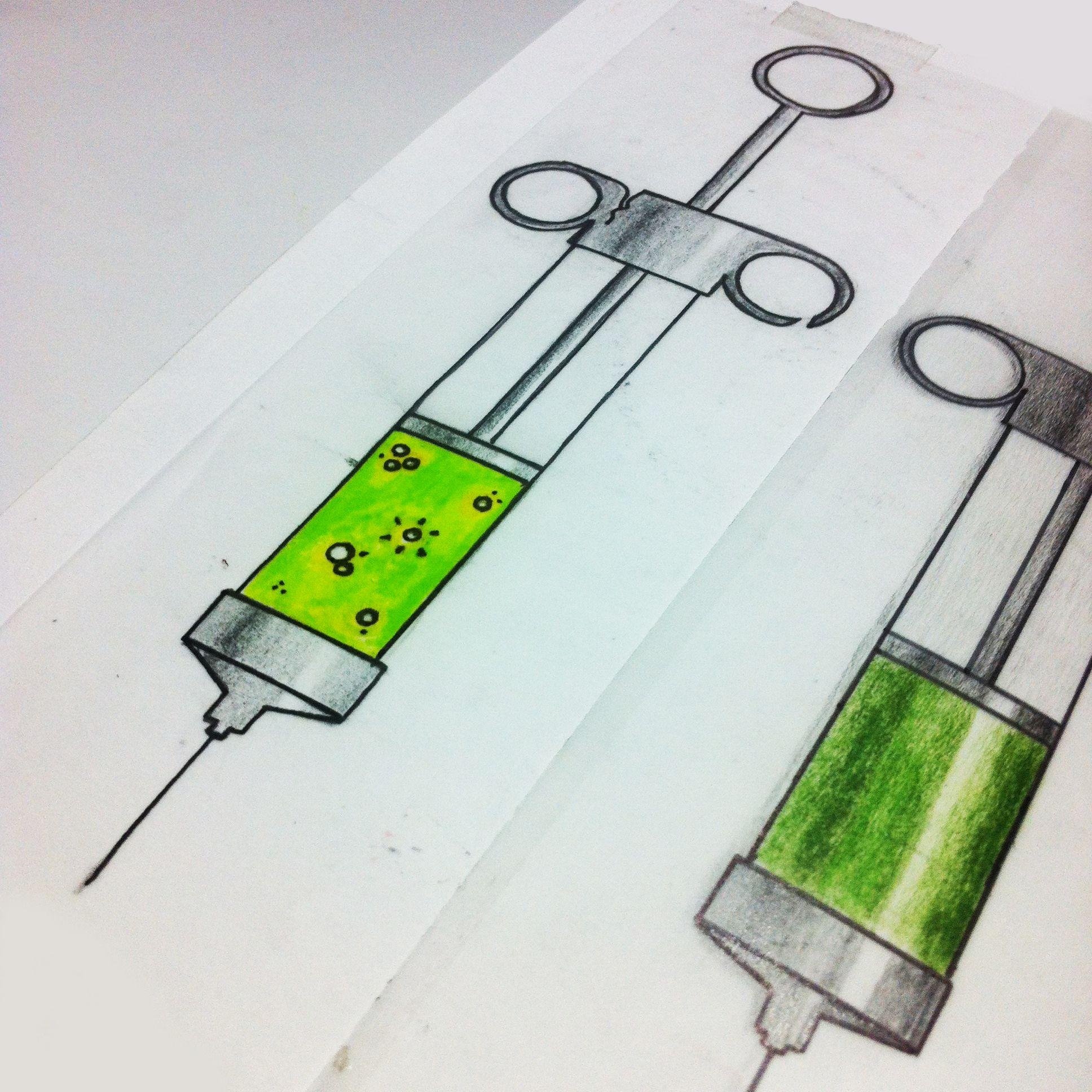 1936x1936 Oldschool Injection Syringe