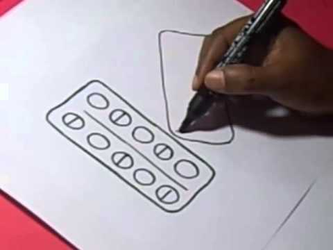 480x360 How To Doctor Medicine Tablets Drawing For Kids Step By Step