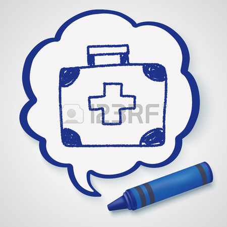 450x450 Medicine Case Doodle Drawing Royalty Free Cliparts, Vectors,
