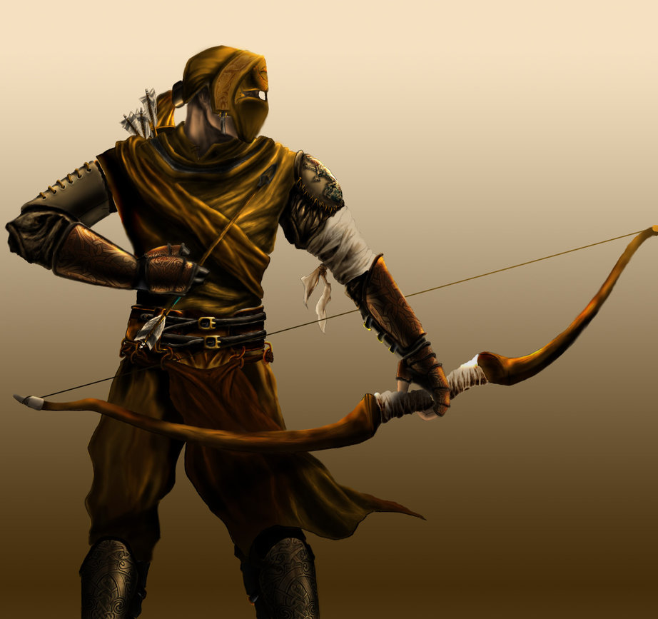 922x867 Medieval Archer By Son8of8man