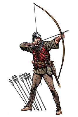 267x400 Medieval Longbow