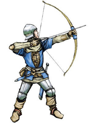300x400 Medieval Archer By Dogblessyou