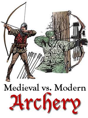 300x405 Medieval Versus Modern Archery