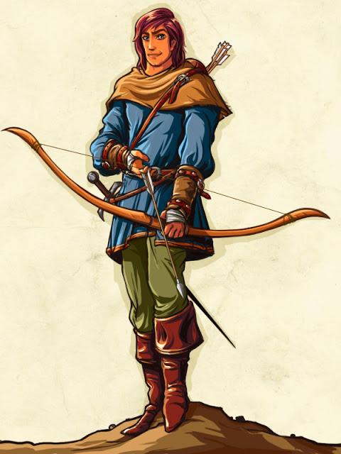 480x640 Medieval Archer By Vaibhavpawar19