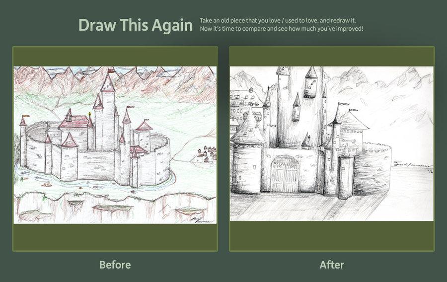 900x568 Draw This Again Medieval Castle By Schmalkalder