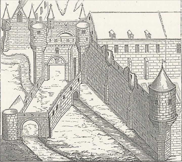 720x639 Medieval Castle Drawing
