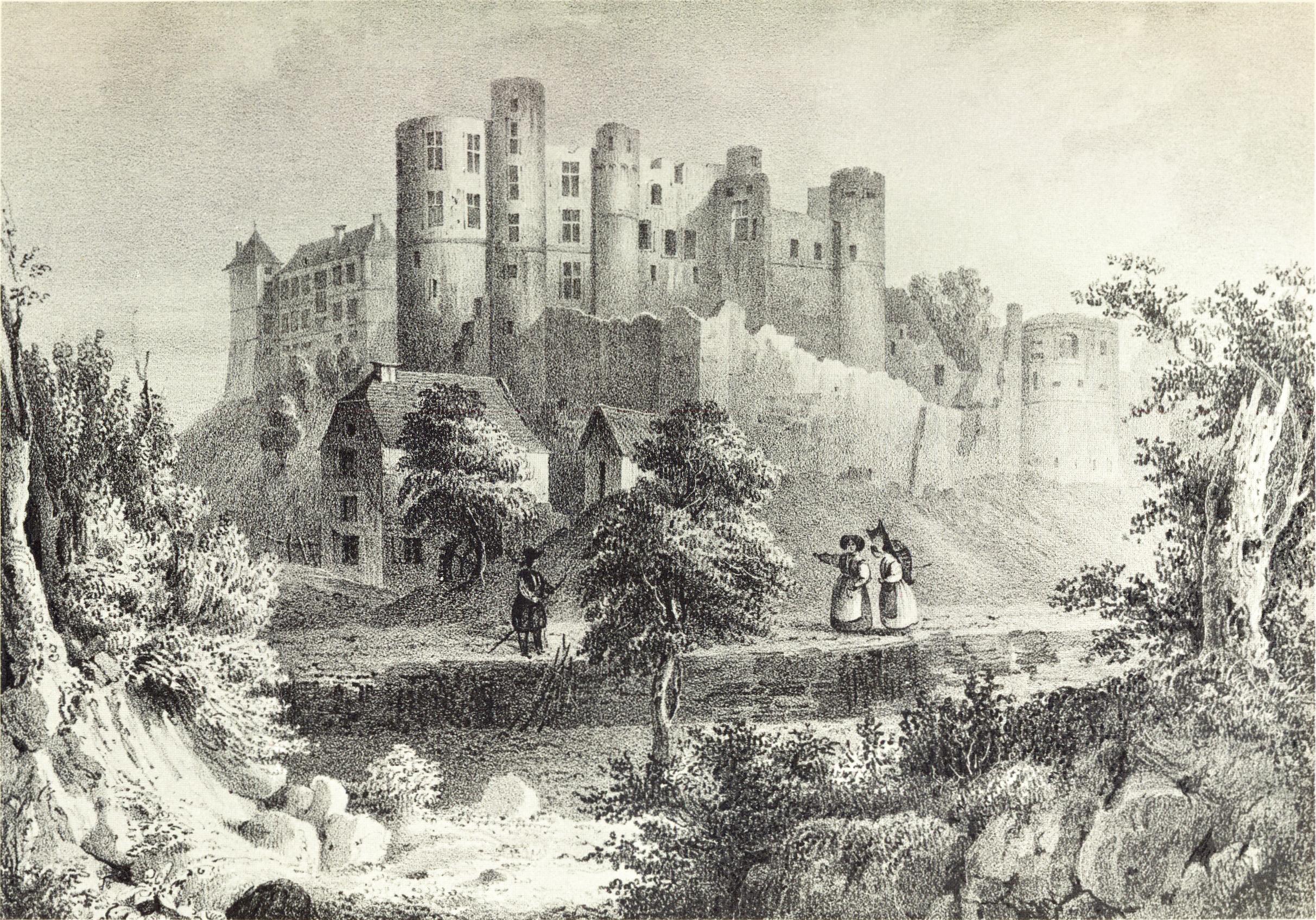 2425x1696 Beaufort Castle, Luxembourg