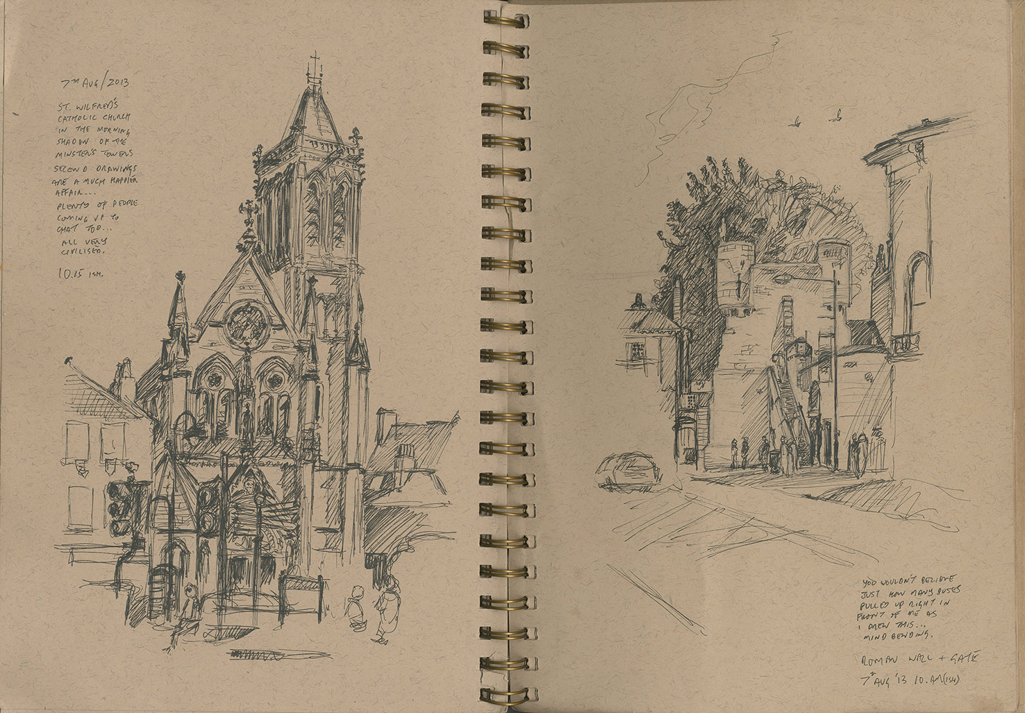 1476x1027 York Interlude And Other Recent Observational Drawing Urban