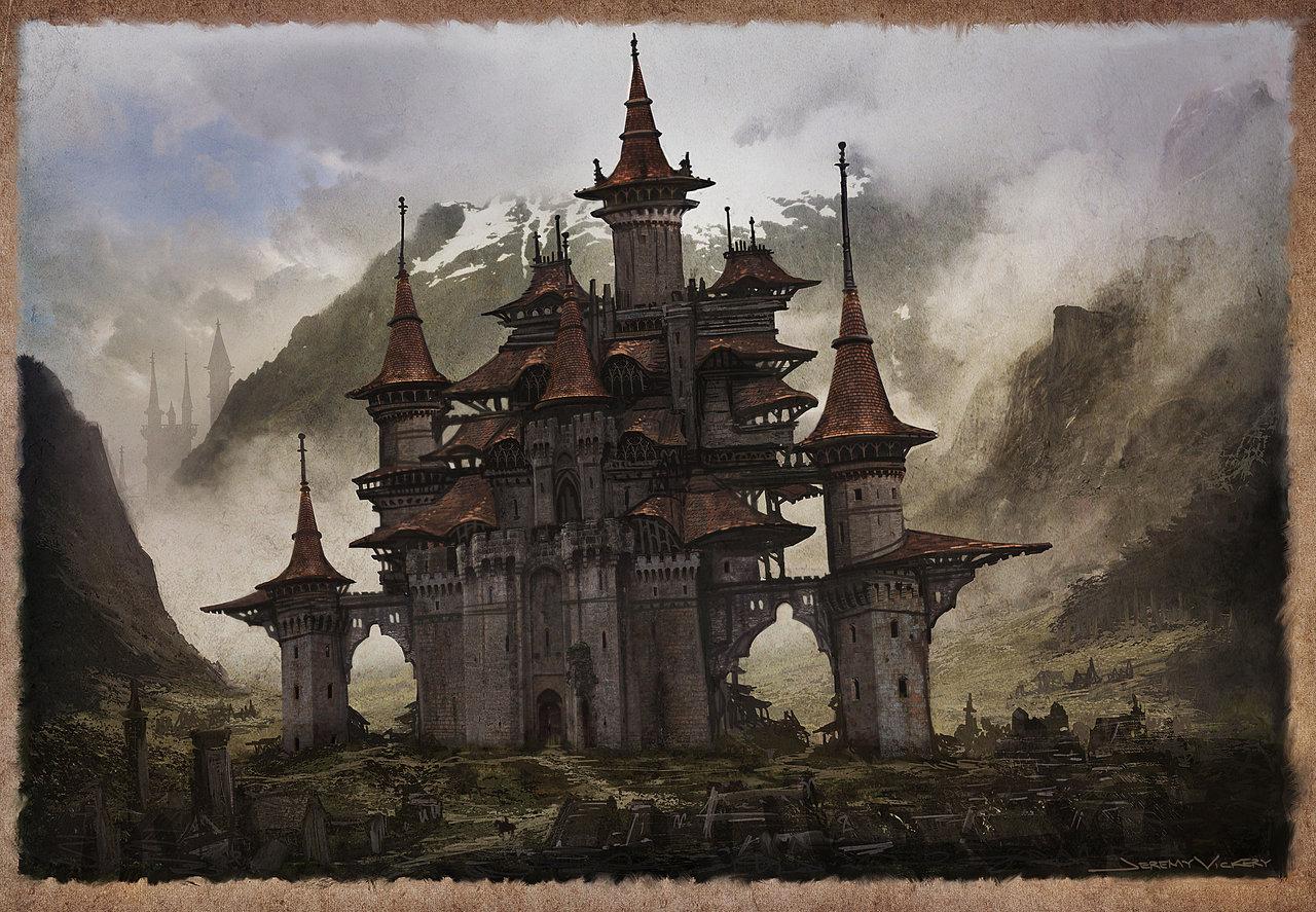 1280x887 Castle Study By Jermilex