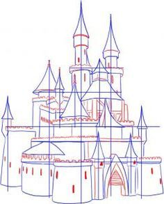236x293 How To Draw A Medieval Castle Step 3 How To Draw