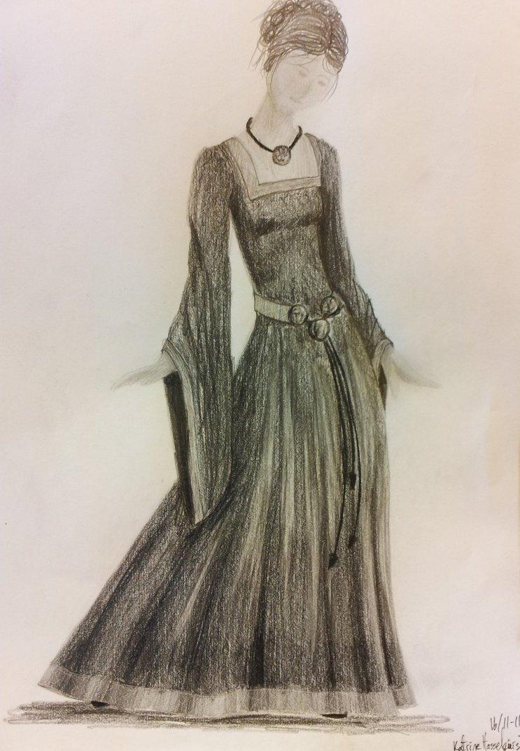 743x1074 Costume Gothic Medieval Dress By Gokkivangogh