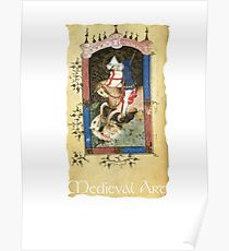 210x230 Medieval King Drawing Posters Redbubble