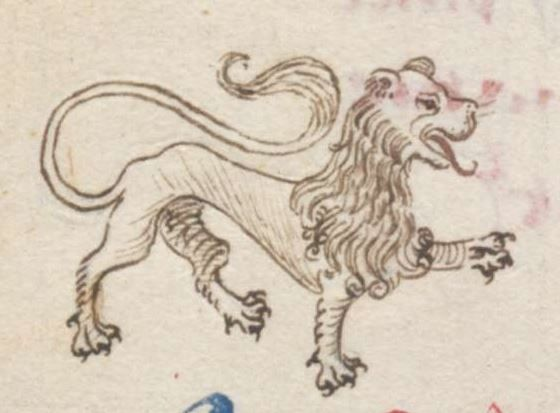 Medieval Coloring Pages For Adults : Medieval lion drawing at getdrawings.com free for personal use