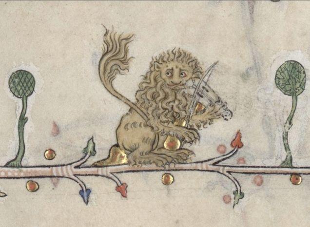 636x466 A Selection Of Weird Amp Disturbing Medieval Manuscript Art Lazer