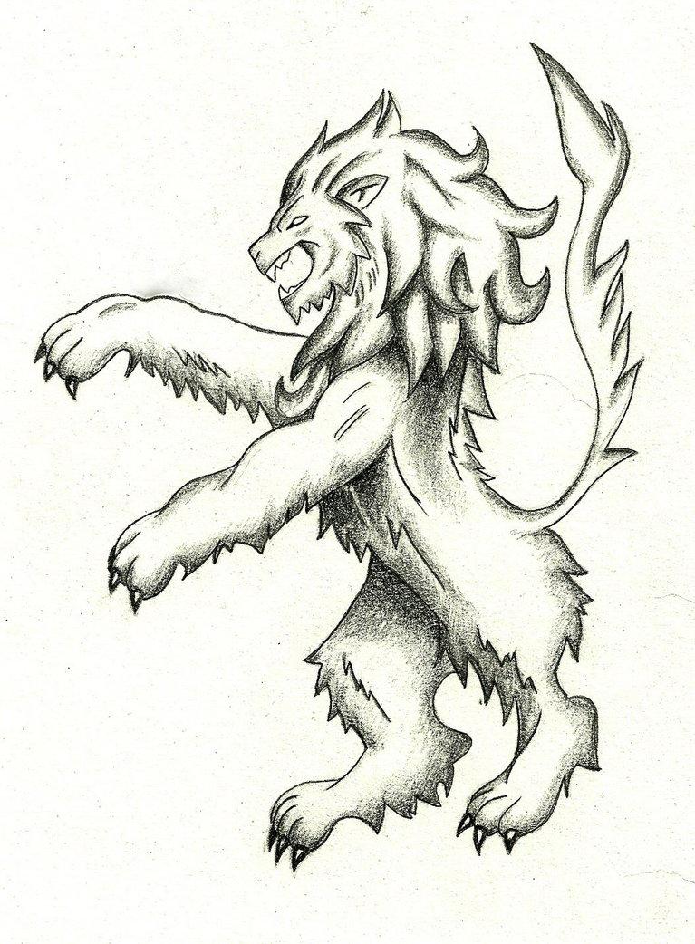 767x1042 Medieval Lion By Dark Gates