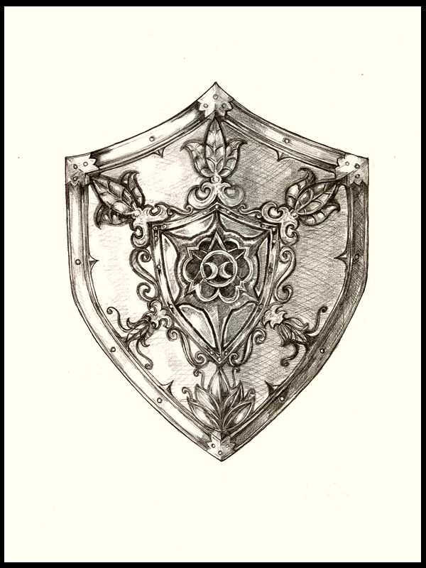 600x800 Escudo Medieval By ~ Amurgaprins On Amp Knifes