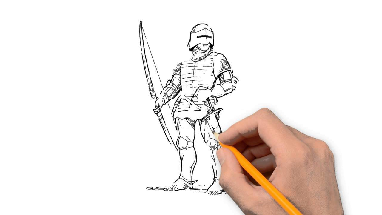1280x720 Soldiers Things To Draw In Pencil Step By Step
