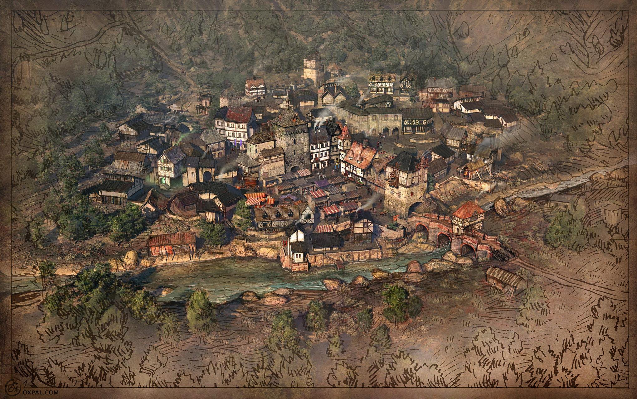2042x1280 Even Sinful Medieval Towns Need Maps Thomas Schmall