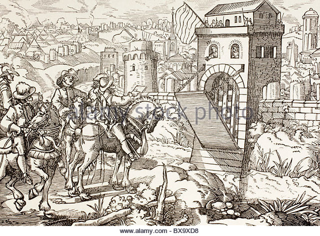640x472 Medieval Town Illustration Stock Photos Amp Medieval Town