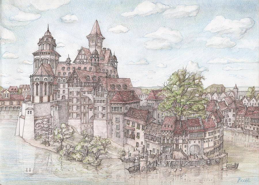 900x642 Of The Lords Drawing By Bela Szadeczky Kardoss