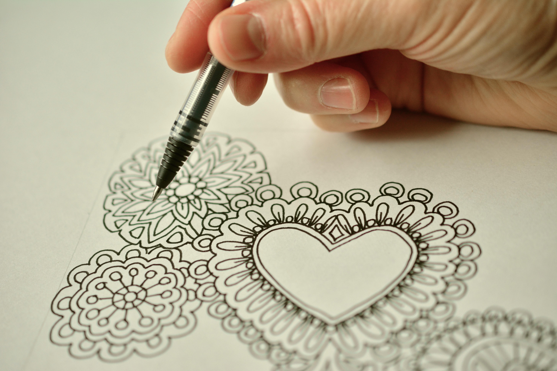 6000x4000 Free Images Writing, Pen, Paint, Art, Sketch, Design, School