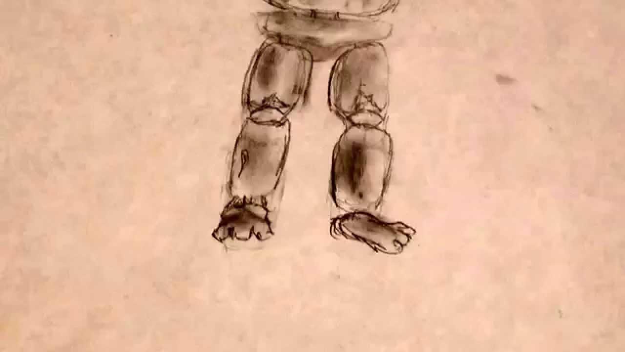 1280x720 How To Draw Withered Freddy Fazbear (Medium Drawing Level)
