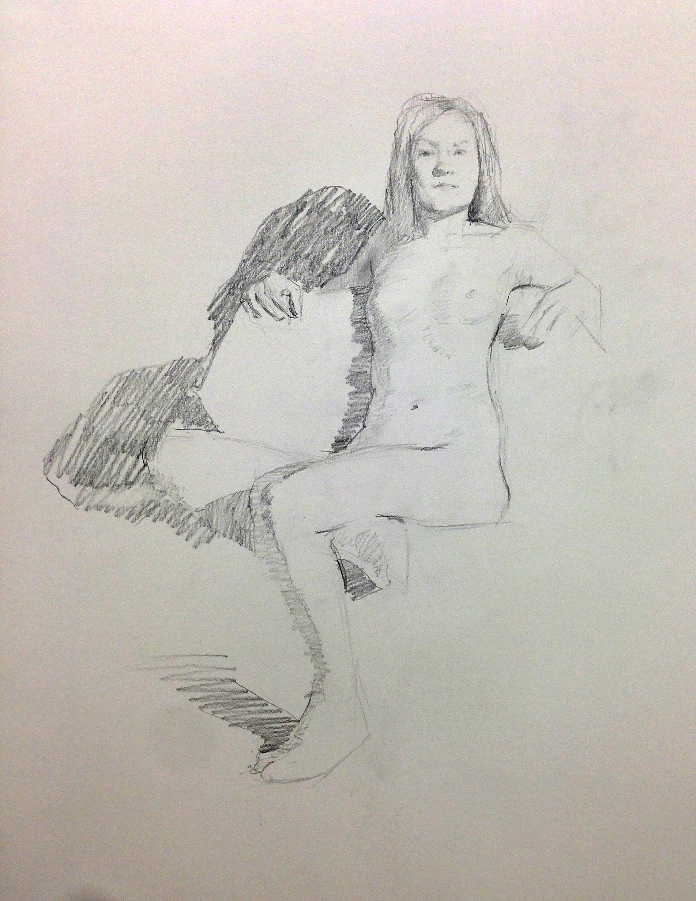 2273x2940 Thursday Life Drawing @ Atelier Westerdok