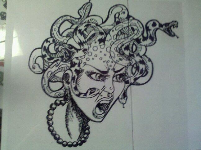 648x484 Medusa Head By Jimmyeatfood