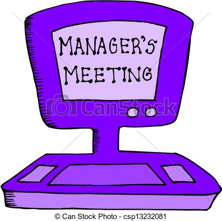 450x449 Managers Meeting Vector