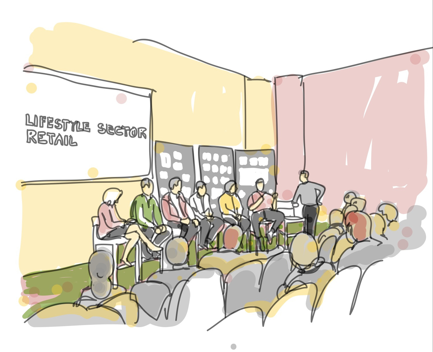 1511x1229 Drawing (On) The World Gensler Super Meeting Chicago 2012