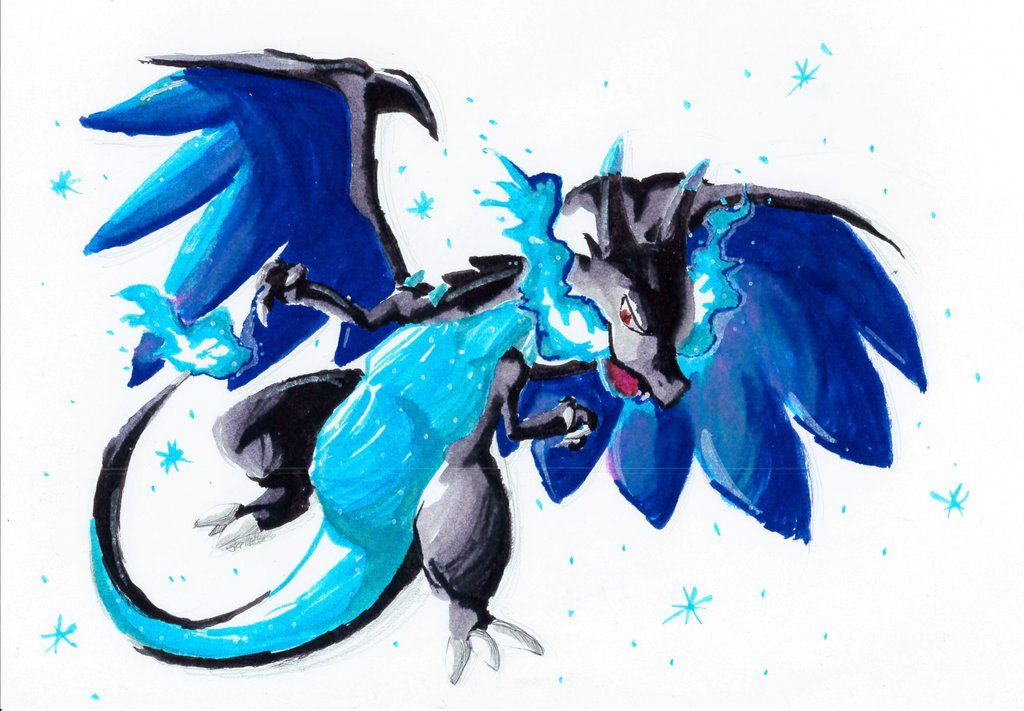1024x711 mega charizard x by skittatle on deviantart