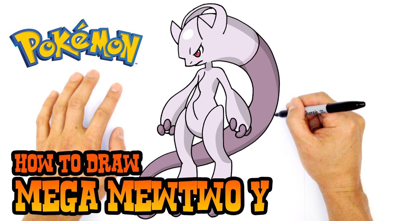 1280x720 How To Draw Mega Mewtwo Y Pokemon