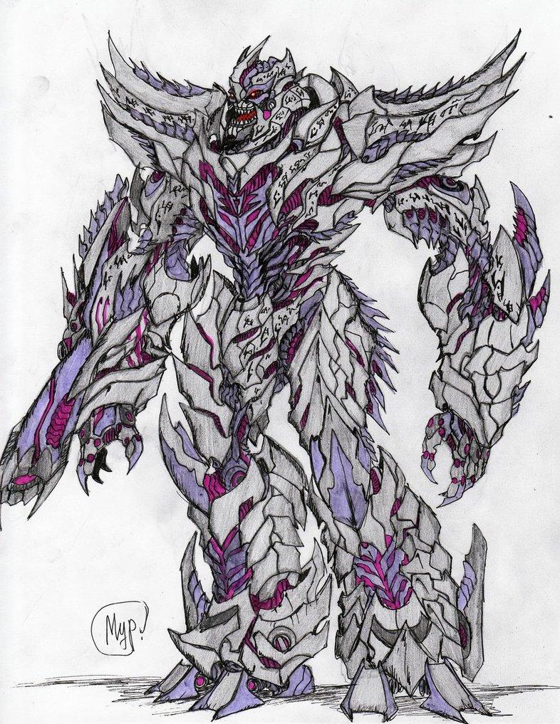 786x1017 Megatron By Kirill Predator
